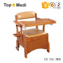 Topmedi Medizinische Möbel Hölzerne Kommode mit Dinner Schreibtisch