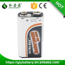 Batería recargable Ni-mh 9V 160mah