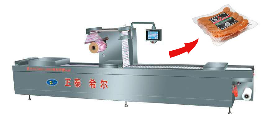 Dried Dates and Legume Vacuum Packing Machine