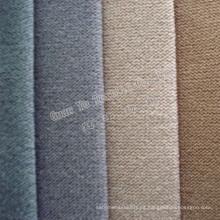Tapicería de tela de sofá de terciopelo catiónico súper suave con respaldo de T / C
