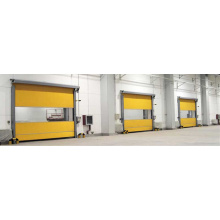 Automatic PVC Fast Rolling Shutter Door