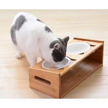 Bol pour animaux de compagnie avec plate-forme d'alimentation