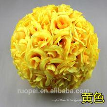 Boule artificielle Fleurs Hortensia artificielle Boule Centre de table