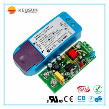 Shenzhen a conduit l'alimentation électrique downlight 300ma led driver dimmable