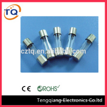 China wholesale 5x20/6x30/10x38 hrc Glass Fuse types
