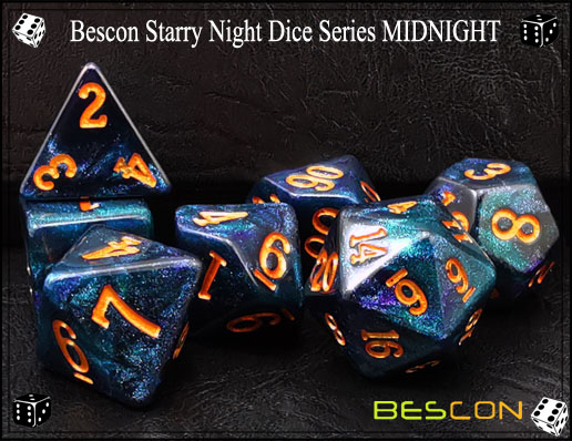 Starry Night Dice-4