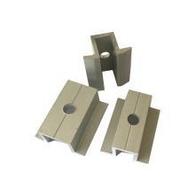 Оптовая изготовленные на заказ алюминиевые экструзионные аксессуары для солнечных стентов