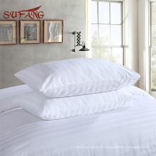 Directamente de fábrica del hotel / sábanas de cama de la raya de los 3cm para los hoteles y los hospitales