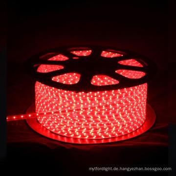 LED-Lichtleiste 3528 220V ROT 60LEDS PRO METER