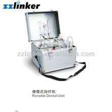 LK-A33 Type de bagage Compresseur d'air intégré Unité dentaire portable portable