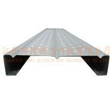 Planches d'échafaudage de pin de fin de construction