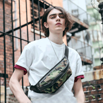 Camouflage Sport Fanny Waist Pack per viaggi Raves