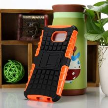 for Samsung Galaxy S6 Case Deluxe Kickstand Impact Hybrid Case