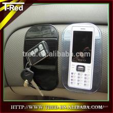 Accesorio para teléfono móvil extraíble PU almohadilla antideslizante para coche menos de 1 dólar caliente