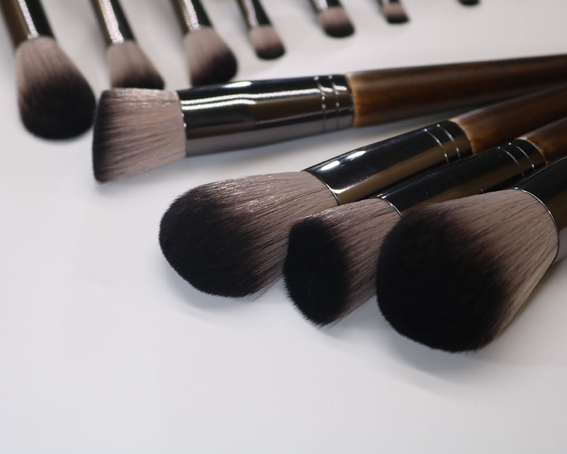 14 Solid wood Makeup Brush 6