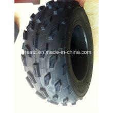 Dos pneus sem câmara de ar de alta qualidade ATV