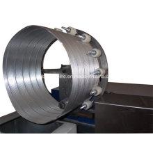 Máquina de duto de folha de alumínio flexível espiral automática