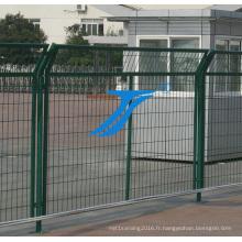 Clôture de sécurité, clôture à double tranchant