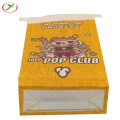Biodegradation  popcorn sos  paper  bag