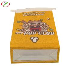Biodegradation  popcorn sos  paper  bag