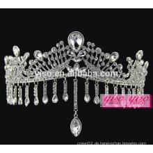 Königliche Krone Dekoration europäischen Mode Braut Stirnbänder Schmuck Tiara