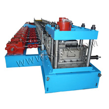 C Purlin Roll formando máquina com caixa de engrenagens
