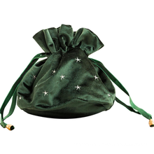 Large Drawstring Wedding Gift Bags Luxury Velvet Storage Bag
