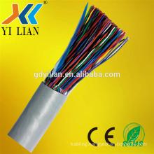UTP cat5 100 pair cable 0.4mm multi core communication cable