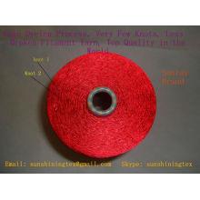 fil de filaments de viscose gâteau brillant blanc cru teint 150D / 30F