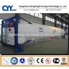 LNG Cryogenic Liquid Oxygen Nitrogen Argon Carbon Dioxide Tank Container