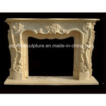 New Design Popular Marble Fireplace (SY-MF224)