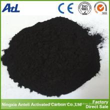 Adsorbentes industriales activados en polvo de carbón
