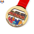 Custom marathon beste finisher email medailles