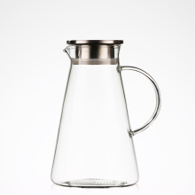 2017 hot selling water pitcher with stainless steel lid