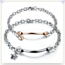 Joyería de moda pulsera de acero inoxidable parejas (HR286)