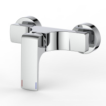 Brass wall mounted wide-spread bathtub mixer shower faucet
