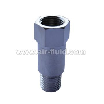 Cixi воздух жидкость никелированная латунь мужской BSPT адаптер (длинный)