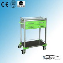 Mobile Hostedial Medizinische Behandlung Medizin Trolley (N-19)