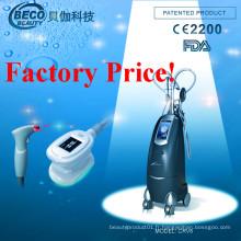 RF + Fat Gel + Vide + Laser + Cryolipolysis de lumière froide équipement du système (CRV6)