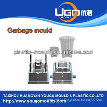 household plastic garbage bin mould Injection mould, inject mould factory