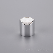 Neck 20 Plastic Cosmetic Packaging Capa de cobertura de alumínio Cap