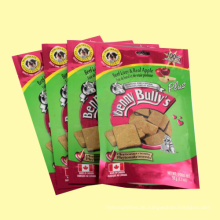 Haustierfutter Verpackungsbeutel Ziplock Beutel