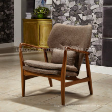 Fashion Leisure Armrest Upholstered Dining Chair (SP-HC065)