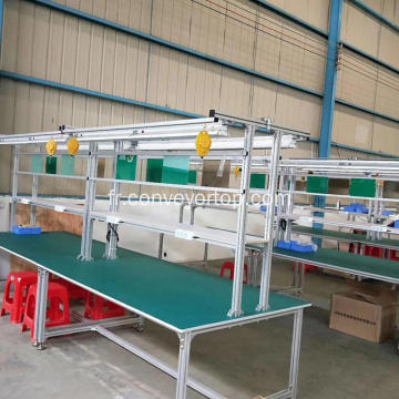 Ligne de montage Workbench Portable Workbench en acier inoxydable