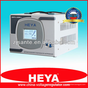 SRFII-12000-L stabilisateur de tension de contrôle du relais d'affichage LCD