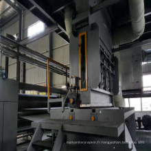 Machine de fabrication de tissu non tissé de serviette hygiénique