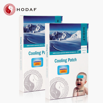 Demam mengurangi cooling gel patch fever down patch