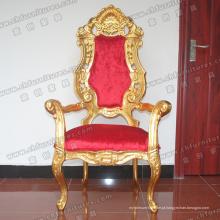 Cadeado de braço real de madeira dourada (YC-K001)