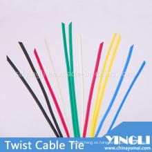 Variedad Color PE giro Cable Tie