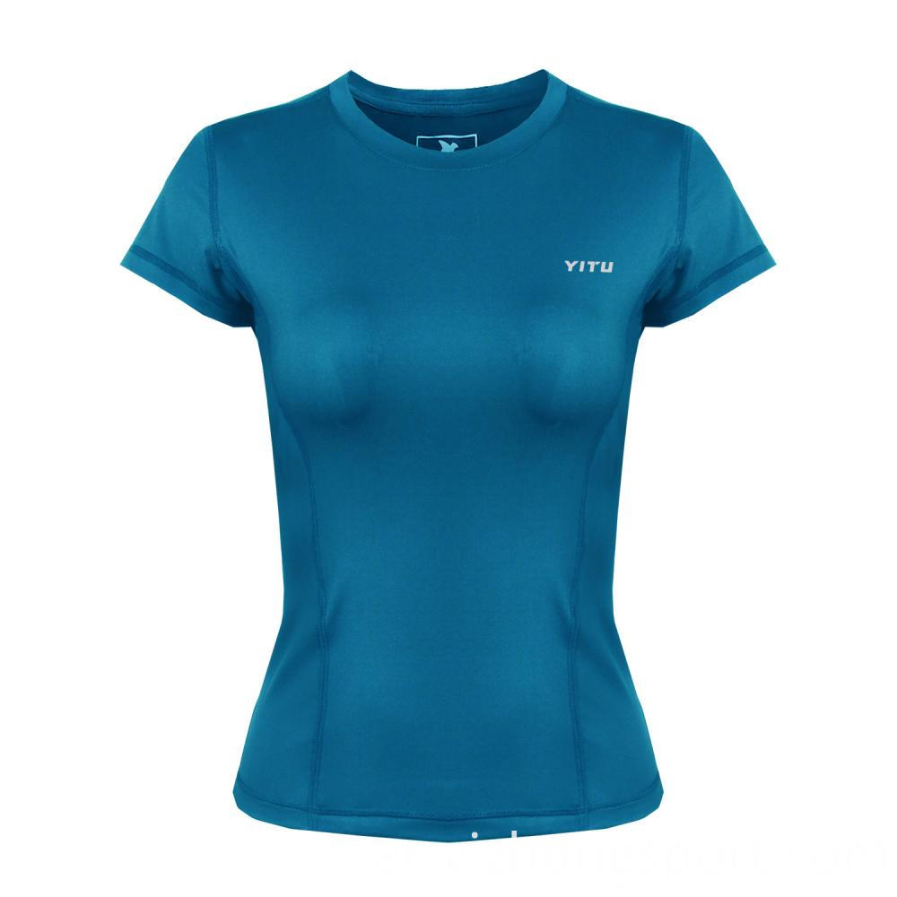 Fitness Womens T Shirt Polyester